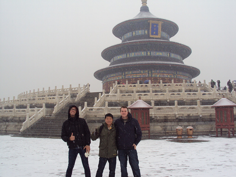 Ricardo in the Temple of Heaven