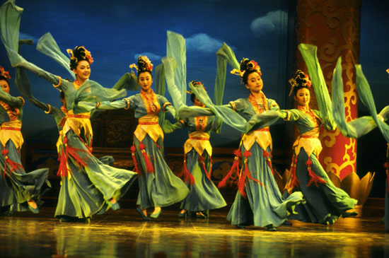 Tang Dynasty Dance Performance