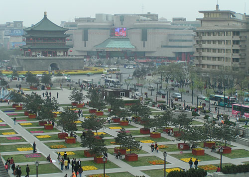 Square of Bell & Drum Tower